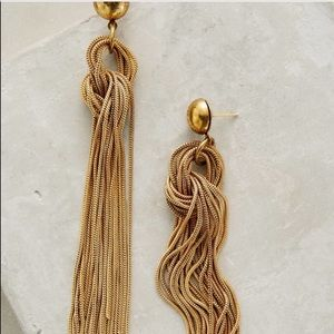 🆕Anthropologie Ravi Fringe Earrings